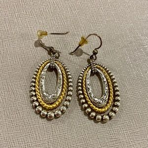 Brighton Gold and Silver Dangle Earring